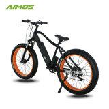 48V 1000Wギヤモーター脂肪質のタイヤ山の電気自転車