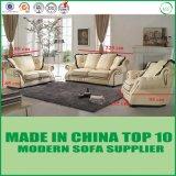 Sofa en cuir sectionnel moderne véritable de Loveseat pour la salle de séjour