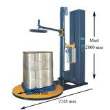 Machine à emballer de palette avec le mastic de colmatage de film