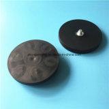 Магнит неодимия покрытия светлой низкопробной черноты магнита резиновый с отверстием винта