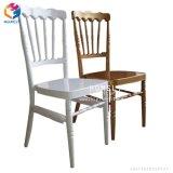 El metal blanco Napoleón Chiavari sillas Tiffany para exteriores