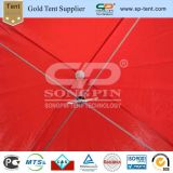 6x6m Red Piscina grande parte pop up Tenda para eventos na venda a quente