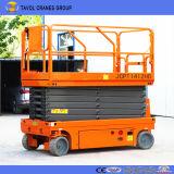 Bester Verkaufs-hydraulisches Mobile Scissor Aufzug mit Batterie und selbstangetriebener Einheit