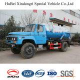 Carro del carro de las aguas residuales de la succión de Feng 6cbm del dong