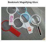 Hw817 140*70мм 3X круглой формы с изображением увеличительного стекла ручной ПВХ лупы с изображением увеличительного стекла объектива