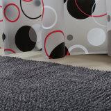 Impresión rodillo resistente al agua PEVA cortina de ducha para el cuarto de baño Decoración