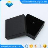 La texture du papier personnalisé collier noir Boîte en carton