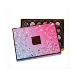 Примите изготовленный на заказ заказ и коробку Handmade шоколада бумаги карточки OEM характеристики причудливый упаковывая