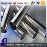 303 304 tubo de acero inoxidable redondo soldado de calidad superior de 316ti 316L