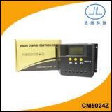 regolatore della carica della batteria solare della visualizzazione dell'affissione a cristalli liquidi di 50A 24V PWM