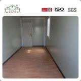 Casa prefabricada de la estructura de acero 2 de los suelos del edificio del envase modular prefabricado de la oficina