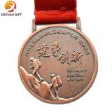 China esmalte programável de design do Cliente de fábrica metal medalha em 3D