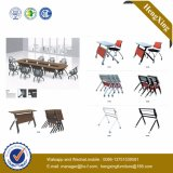 Mesa do dobro Stackable da mobília da sala de aula e cadeira ajustadas (UL-NM022)