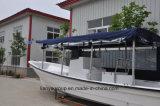Liya 7.6m de Vissersboot van het Jacht van de Glasvezel van de Luxe met BuitenboordMotor