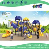 Piscina Crianças Orange Tree House Parque Infantil de aço galvanizado para Quintal (HG-10201)