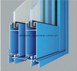 Quadrat, rundes, unterschiedliches Aluminiumlegierung-Strangpresßling-Profil für Tür und Fenster-Gefäß 50
