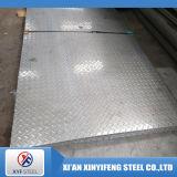 Grado Checkered impresso del piatto 304 del piatto dell'acciaio inossidabile