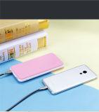 Côté de pouvoir à 10000mAh/20000mAh avec le côté portatif de pouvoir de couleurs multi d'éclairage LED