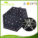 Mini ombrello della casella del popolare promozionale più poco costoso per l'OEM