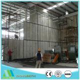 El panel de pared de emparedado del cemento del EPS para la casa de la casa prefabricada de Eco