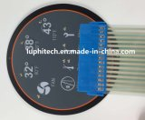 Enbossing Tastmetall wölbt sich LED, die multi Farben-Membranschalter Backlighting ist