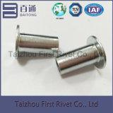 da cor branca do zinco de 10X20mm rebite de aço tubular cheio principal liso