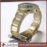Belädt LuxuxGoldrose Uhr-Quarz-Armbanduhr-Armband-Form-Uhr-Sport-Uhr