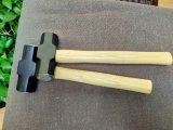 Schlitten-Hammer mit hölzernem Griff