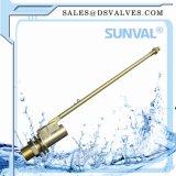 Válvula de flotación de cobre amarillo con la bola plástica de Ball/Ss