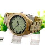La Madera Natural puro OEM Pulsera Reloj de cuarzo Relojes de medio ambiente