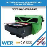 Impressora UV do tamanho 4880 aprovados da cabeça de impressão A2 da alta qualidade Dx5 do ISO do Ce