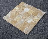 2017年のフォーシャンのニースの白い大理石デザイン磨かれた陶磁器の床タイル