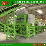 Abfall/Schrott/verwendeter Gummireifen, der Maschine für die Herstellung 10-20mm der Gummilaubdecke aufbereitet