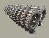 Matériau des pièces de machines de bâti d'acier inoxydable de vanne papillon CD4MCU
