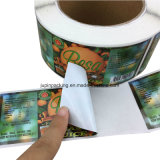 Hot Adhesive Promotion Cheap Custom Self-service Thick PVC Sticker Printing (jp-sticker005)