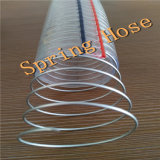 Boyau renforcé par spirale de fil d'acier de PVC