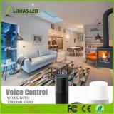 5W Bombilla LED GU10 Amazon WiFi controlado por voz Alexa Bombilla de luz inteligente