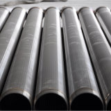 Roestvrij staal Johnson V de Draad Verpakte Putfilter van het Water van de Controle van het Zand