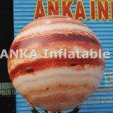 Pianeta gigante gonfiabile Jupiter dell'aerostato del PVC per gli eventi