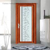 Первоклассный алюминиевая дверь Casement используемая для ванной комнаты (FT-D70)