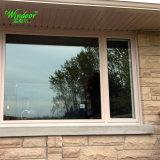 Anodisiertes silbernes Doppelverglasung-Aluminiumflügelfenster-Fenster