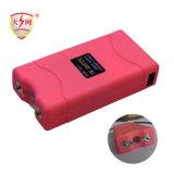 El mini electro choque de alto voltaje Dispositivo-Rosado atonta los armas (TW-800)