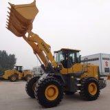 máquinas de construção do carvão 3 Yd novas pás carregadeiras de rodas dianteiras para venda