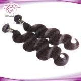 加工されていない高い等級のブラジルのバージンの毛のよこ糸