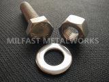 DIN 933 Roestvrij staal a4l-8 van de Bouten van de Hexuitdraai Hoofd Materieel met DIN 934