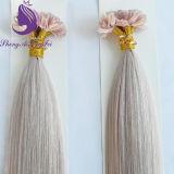 A cor branca U Dica Extensão de cabelo