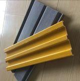 蹴り版の/FRPチャネルのガラス繊維のプロフィールFRPの形GRP