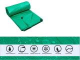 Étanche résistant 18X22pouce vert la bâche de protection PE