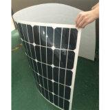 comitato solare semi flessibile 150W/modulo solare con le pile solari di Sunpower