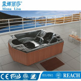 L'acrylique SPA Massage grande baignoire avec huit angles (M-3339)